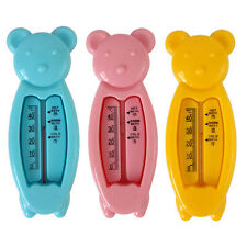 Cute Non-Toxic Cartoon Bear Baby Bath Water Thermometer Baby Bath Supplies