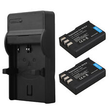 2x EN-EL9A EN-EL9 Battery & Charger for Nikon D40 D40X D60 D3000 D5000 D3X PM106