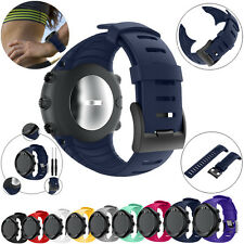 Replacement Fashion Sports Silicone Bracelet Strap Band w/Tools For Suunto Core