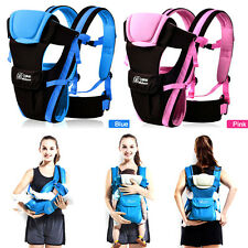 Baby Carrier (2-30 Months Breathable) Infant Backpack Pouch Wrap Baby Kangaroo