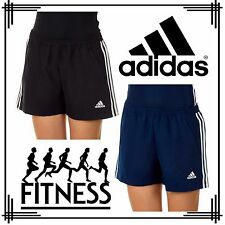 adidas 3 Stripe T16 Climacool Ladies Gym Shorts Womens Running Shorts