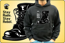 sweatshirt UNISEX Or BABY STAY Stay RUDE Stay REBEL SKA SKINHEAD SHARP SKINS
