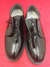 ONE NEW PAIR BATES Vibram Men's Oxford High Gloss Military Uniform Dress Shoes