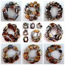 """Wholesale 1Strand Mixed Shaped Fire Dragon Veins Agate Loose Bead 15.5"""" HBTZ101"""