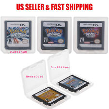 Pokemon HeartGold / SoulSilver Version Game Card For Nintendo 3DS NDSi NDS Games