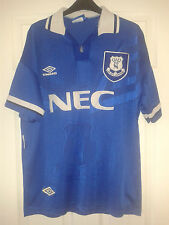 19 X Mens Football Shirt - Everton - HOME / AWAY SHIRTS - VINTAGE - 1999 To 2011