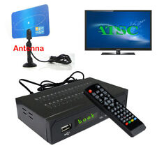 Digital Clear Cable DVB-C FTA ATSC TV Tuner Receiver Analog Antenna Convertor
