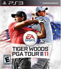 Tiger Woods PGA Tour 11 PS3 Complete CIB Tested