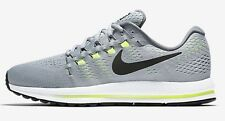Nike AIR ZOOM VOMERO-12 MEN'S RUNNING SHOES, GREY/BLACK- Size US 11.5, 12 Or 14