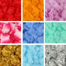 1000pcs Silk Rose Flower Petals Engagement Wedding Decoration Confetti Table