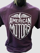 American Motors T-Shirt Mens S-5XL Biker rider cafe racer bike tee usa top rock