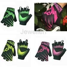 Breathable Cycling Gloves Fingerless Half Finger Bicycle MTB Bike Riding Gloves