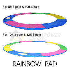 8 10 12 FT Replacement Trampoline Pad Spring Cover Padding 29cm width Durable UK