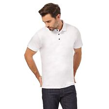 J By Jasper Conran Mens White Supima Polo Shirt From Debenhams