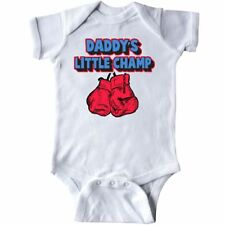 Inktastic Daddys Little Champ Infant Creeper Fathers Day Kids Happy 1st First