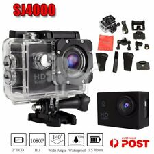 HD 1080P SJ4000 12MP Sports DV Waterproof Camera Helmet CAM Camera Bike DVR BU