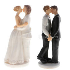 Homosexual Wedding Cake Topper Same Sex Male Female Kissing Marriage Cake Topper