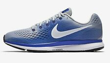 Nike AIR ZOOM PEGASUS-34 MEN'S RUNNING SHOES,GREY/BLUE/WHITE- US 7,7.5, 8 Or 8.5
