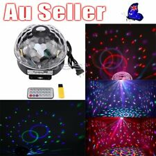 Party Laser DJ Light LED Stage Lighting Crystal Magic Ball Effect Bar Disco RGB#