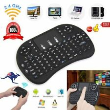 Smart Wireless Backlight i8 2.4G Keyboard Touchpad Android PC Mac TV BOX Mini KU