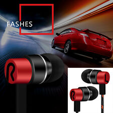 In-Ear 3.5mm Earphone Earbuds Headset Stereo HeadPhone For Cellphone Mp3 Mp4 New