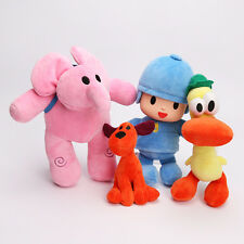 Cute Pocoyo Elly Pato Loula Plush Stuffed Figure Birthday Soft Toys Dolls Gift