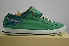 Diesel Exposure low canvas Amazon green Shoes Shoes Trainers Size 46