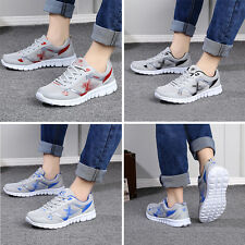 Men Boys Breathable Mesh Sports Casual Running Walking Shoes Trainers Sneakers