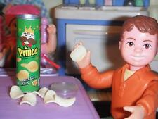 Rement Can of Sourcream Onion Pringles fits Fisher Price Loving Family Dollhouse