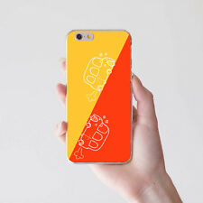 COLOR BLOCKING CARTOON CAR CASE COVER FOR IPHONE 5 6 7 SAMSUNG GALAXY S4 TEMPT
