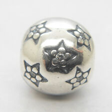 Authentic Genuine S925 Sterling Silver Twinkle Twinkle Star Clear CZ Clip Charm