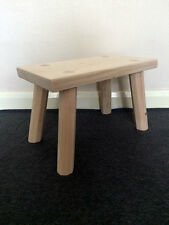 Wooden Foot Stool, Step Stool, Foot Rest, Hand Made, Small Stool