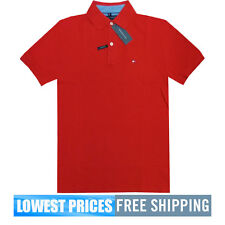 Tommy Hilfiger NWT Men's Custom Fit Core / Ivy Red Polo Shirt Free Shipping