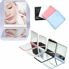 Portable Makeup 8 LED Lighted Mirror Touch Screen Beauty Vanity Cosmetic Mirror