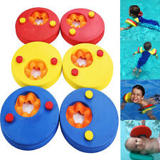 6x Swim Discs Foam Arm Bands Armbands Float Learn for swimming baby kid children