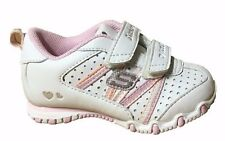 Skechers Bikers-Main Squeeze Girls Toddlers Infant Sneakers Shoes White/Pink