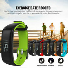 Bluetooth Waterproof Smart Watch Wristband Heart Rate Blood Pressure Tracker P1