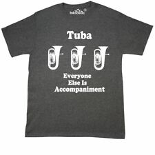 Inktastic Funny Tuba Player Music Joke T-Shirt Marching Band Gift For Clothing