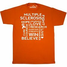 Inktastic Multiple Sclerosis Walk Support T-Shirt M.s. Awareness Hope Cure Event