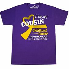 Inktastic I Love My Cousin- Childhood Cancer Awareness- Hope, Support, T-Shirt
