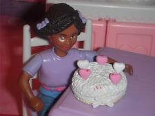 Rement Valentines Heart Vanilla Cake fits Fisher Price Loving Family Dollhouse
