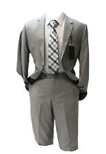 Angelo Rossi by Giorgio Cosani Gray Modern Fit Suit Mens Suits
