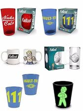 Fallout Vault Boy Tec Coloured Glasses New GITD Shot Glass Stein Coffee Mugs