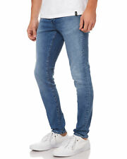 New Neuw Men's Iggy Skinny Mens Jean Cotton Fitted Elastane Blue