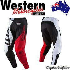 TLD Troy Lee Designs YOUTH 2017 GP QUEST RED WHITE MX motocross PANTS - SALE