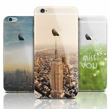 Clear Scenery Pattern Concept Hill Case Cover Skin for New Apple iPhone SE 5 5s