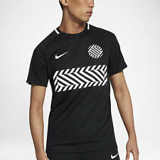 Nike DRY ACADEMY MEN'S SHORT-SLEEVE FOOTBALL TOP, BLACK/WHITE-S, M, L, XL Or 2XL