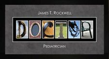 Personalized Art- Doctor Physician Alphabet Photography Letter Art Gift JDOCT