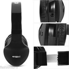 ONMUC L380 Wireless Foldable Touch Gesture Controlled Bluetooth Headphones