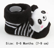 1 Pair Lovely Newborn Baby Girl Boy Cartoon Anti-slip Socks Slipper Shoes Hot